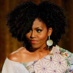 First Lady. Love it! #curly #hair