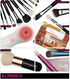 Sigma brushes.  Fantastic.  Flat top kabuki is FABULOUS for applying foundation.  And the duo fiber face brushes...  I am in love!
