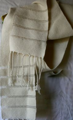 Alpaca and silk hand woven scarf by DesignsbyCindyl on Etsy. GORGEOUS SCARF! So soft!