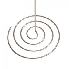 Spiral Wire Table Number Sign & Place Card Holders (Bulk 12) [KW Spiral Silver Table Number] : Wholesale Wedding Supplies, Discount Wedding Favors, Party Favors, and Bulk Event Supplies