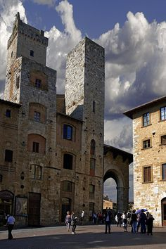san gimignano, italy   I have been to the top of this tower, what a great view