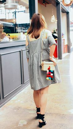 Gingham and Straw /trend /summer /pompoms
