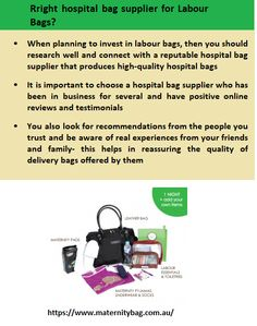 MaternityBag reputable hospital bag supplier has been in business for several years having numerous satisfied clients by offering a wide variety of hospital bags including pre-packed delivery bags Labor Bag, Delivery Bag, Hospital Bag, How To Plan, Business, Bags, Handbags, Store, Business Illustration