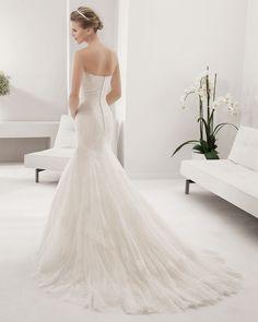 8B149 PAULINA | Wedding Dresses | 2015 Collection | Alma Novia (back)