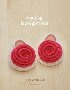 Rosie Ballerina Crochet PATTERN from mulu.us | This pattern includes sizes for 0 - 12 months.</p>