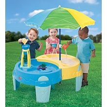 Shady Oasis Sand and Water Play Table was NOW Delivered @ Smyths Toys Water Table Toy, Sand And Water Table, Children Swimming Pool, Pool Sand, Shade Umbrellas, Toys R Us Canada, Sand Pit, Play Table, Water Play