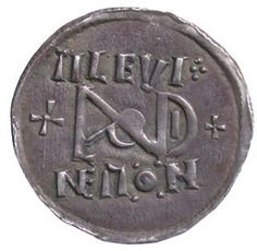 Anglo Saxon Coin of King Alfred.