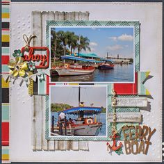 Creatively Savvy - more from susan stringfellow and the scraptastic sail kit. maybe i should be saving more of the kit for my upcoming disney trip, ha.
