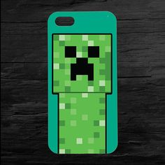 Minecraft Creeper iPhone 4 and 5 Case by theminifab on Etsy, $11.00
