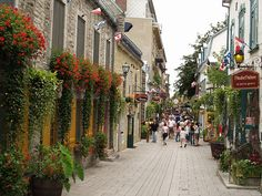 I have some Brazilian cousins who moved to Canada and they took me to Quebec City in July of 2010. I loved it.
