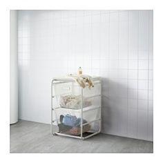 IKEA - ALGOT, Rahmen/2 Netzdrahtkörbe/Deckplatte, Die Teile der ALGOT Serie lassen sich vielseitig kombinieren und können so dem Bedarf und dem vorhandenen Platz angepasst werden.Aus ALGOT Rahmen ergänzt mit Körben der gleichen Serie entsteht eine Aufbewahrungskombination, die überall im Haus passt.Auch für Badezimmer und andere Feuchträume im Haus geeignet.Mit der ALGOT Deckplatte für Rahmen lässt sich auf allen Rahmen der Serie eine praktische Abstellfläche gestalten.Ergänzt mit den ALGOT…