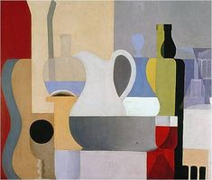 Still Life With Glass of Red Wine is a work by French Artist Amedee Ozenfant completed in 1920. The painting is a depiction of still life, and was a painting on canvas. This painting exempl...