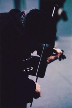 Saul Leiter, Pigment Print, Violinist, 13x19 inches