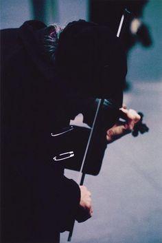 Saul Leiter, Pigment Print, Violinist, 13x19 inches