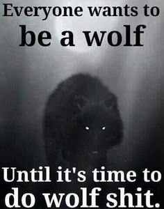 Not a problem. I am a wolf either way. Wolf Qoutes, Lone Wolf Quotes, True Quotes, Great Quotes, Funny Quotes, Inspirational Quotes, Be Wolf, Of Wolf And Man, Wolf Stuff