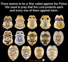 Pray for our Police Officers