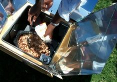 RV solar cooking