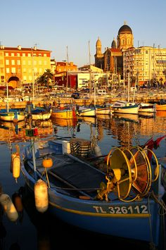 ~Harbor of Saint-Raphaël on The French Riviera ~ Cote d'Azur, France~