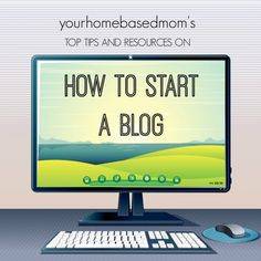 Top Tips & Resources on How to Start a Blog from a blogger who has been doing it for 7 years!