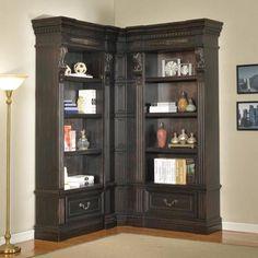 Parker House Grand Manor Palazzo Corner Bookcase