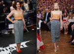 Raf Simons's First #Dior Collection Makes Its Red Carpet Debut on Marion Cotillard