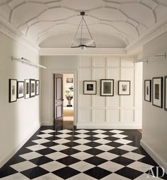 black and white  Architectural Digest