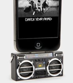 Mini Boombox MP3 Speaker