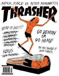 #magazine #Thrasher