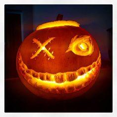 Happy Halloween! #halloween #pumpkin #pumpkincarving