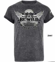 Mens Casual T Shirts, Mens Tops, Biker Shirts, Harley Davidson T Shirts, Great Gifts For Men, Tour T Shirts, Bikers, Motorcycles, Mens Fashion