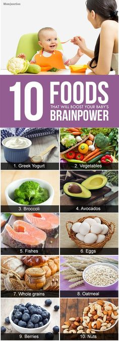 10 Foods That Will Boost Your Baby's Brainpower: Read on to know about the foods that can boost your baby's brain development.