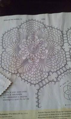 Stylowi.pl - Odkrywaj, kolekcjonuj, kupuj Hexagon Crochet Pattern, Crochet Patterns, Sweet Home, Decoupage, Red, Granny Squares, Crocheting, Needlepoint, Farmhouse Rugs