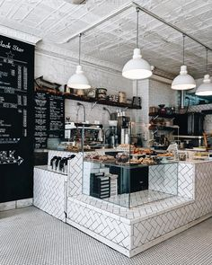 Looking for inspiration for the café? - Looking for inspiration for the café? Cafe Restaurant, Bakery Cafe, Restaurant Design, Bakery Shops, Bakery Shop Interior, Cafe Interior Design, Cafe Design, Design Shop, Bakery Shop Design