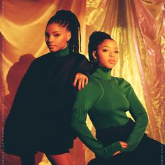 """Read our exclusive interview with Chloe x Halle, where they discuss sisterhood, solo-projects, and their """"sexy, darker"""" new sound! Black Girl Magic, Black Girls, Black Lady, Popsugar, Chloe Halle, Brown Skin Girls, Black Celebrities, Black Girl Aesthetic, Mode Vintage"""