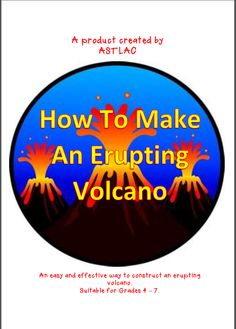 This is a simple and engaging activity for children. They will firstly construct a volcano and then have the chance to erupt it in a spectacular manner.  This is all achieved using easily obtained materials.