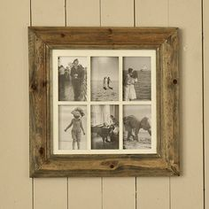 From arguably our most popular collection of photo frames come these Natural Wood Multi Frames £52.00