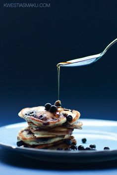♂ Food styling photography still life morning sweet Blueberry Pancakes, Pancakes And Waffles, Food Photography Styling, Food Styling, Strawberry Butter, What's For Breakfast, My Cookbook, Food Inspiration, Moodboard Inspiration