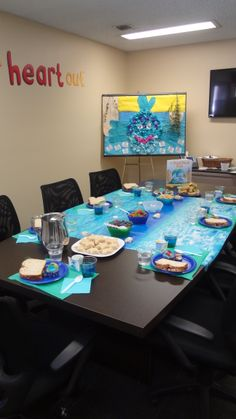 """Bring your """"The Pout-Pout Fish"""" party theme to life with a few simple, fun and delicious treats. #bookit #books #kidslit #reading #party"""