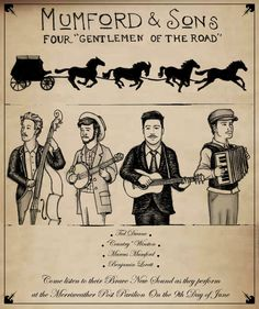 Mumford and Sons Poster by ~K1D6R4Y on deviantART