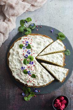Matchateás sütemény - DESSZERT SZOBA Matcha, Pie, Ethnic Recipes, Food, Torte, Cake, Fruit Cakes, Essen, Eten