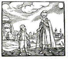 Maestro y niño Comenio Orbis Pictus Orbis, Headers, Templates, Greece, Infancy, School, Historia, Blue Prints