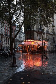 Also Beautiful, on a rainy day... Paris