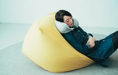 Relax and sink into a Body Fit Cushion for an afternoon nap or some light reading.