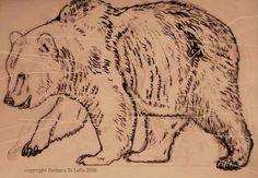 copyright Barbara Di Lella, grizzly bear sketch, 2016 #pencildrawing #handdrawn #pencilsketch #grizzlybear #bear #naturedrawing Pencil Drawings, Art Drawings, Bear Sketch, Nature Poem, Nature Drawing, Googie, Wilderness, Illustration, Bears
