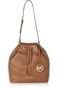1f3045ef0d MICHAEL Michael Kors - Jules large textured-leather bucket bag