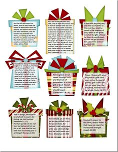 Gifts of God gift tags 2