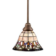 Replace any recessed light with this screw in stained glass pendant replace any recessed light with this screw in stained glass pendant light easy and affordable kitchen pinterest glass pendants pendant lighting mozeypictures Image collections