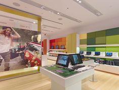 Sony Leap Westfield store by Brand + Allen, Los Angeles store design