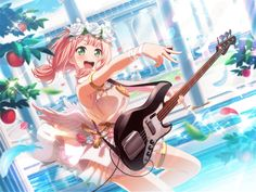 The BanG Dream! Happy Dance, Digital Art Anime, Anime Art, Japanese Show, Anime Pictures, Party Characters, White Day, Dance Lessons, Anime Music