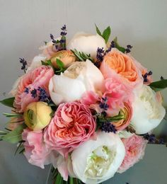 Bridal bouquet by Fairy Nuff Flowers